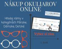 Nákup dioptrických okuliarov online