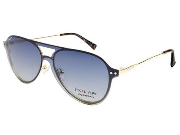 Unisex okuliare POLAR 415 02 + polarizačný klip