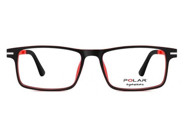Detské okuliare POLAR 473 75 + polarizačný klip