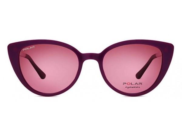 Detské okuliare POLAR 484 08 + polarizačný klip