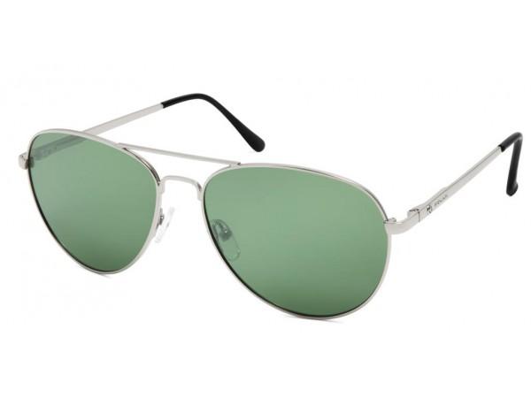 Slnečné okuliare POLAR 664 Silver&Green