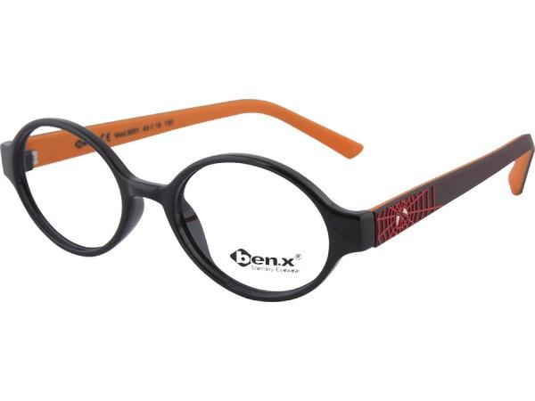 Detské okuliare ben.x  5001 Black2