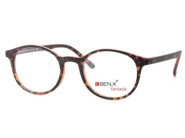 Dámske dioptrické okuliare ben.x 110 Red2