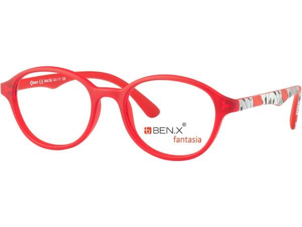 Detské okuliare ben.x  562 Red Matt