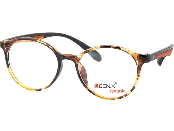 Dámske dioptrické okuliare ben.x 3501 Coffee
