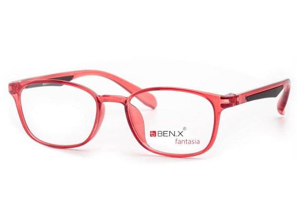 Detské okuliare ben.x 3502 Red
