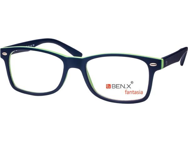 Detské okuliare ben.x  673 Blue&Green
