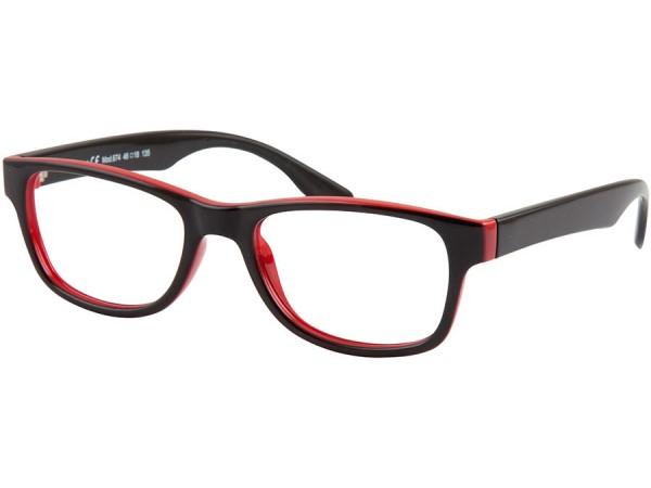Detské okuliare ben.x 674 Black&Red