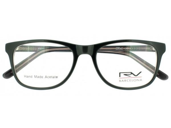 Dioptrické okuliare RV328 Dark Grey -1