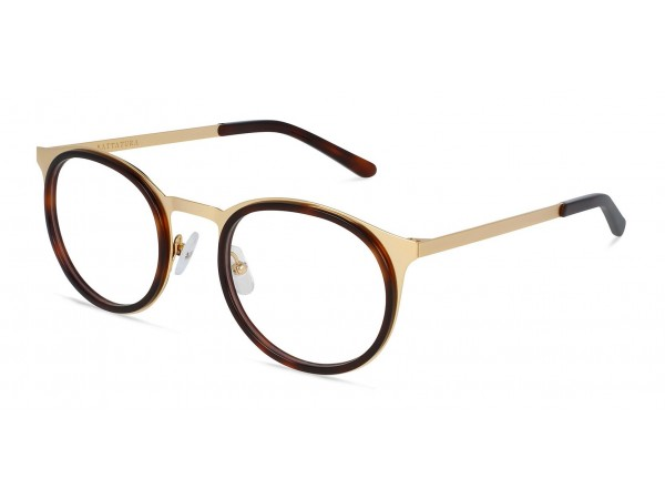 Unisex titánové okuliare Angelo Gold