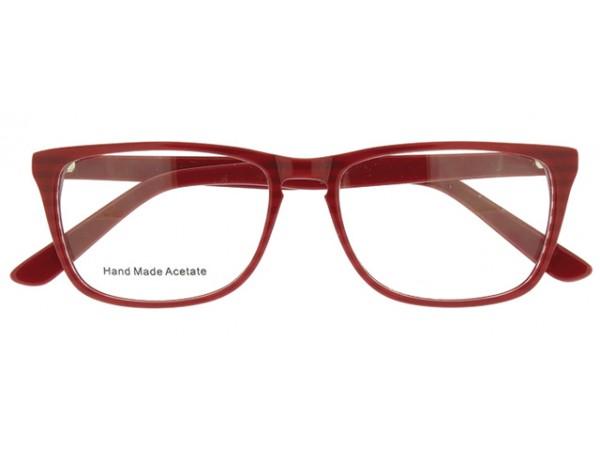 Okuliare Wayfarer Waki Red