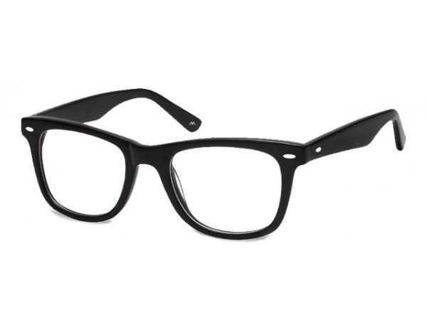 Wayfarer Okuliare Čierne