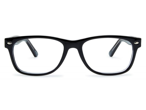 Detské dioptrické okuliare Maher Black