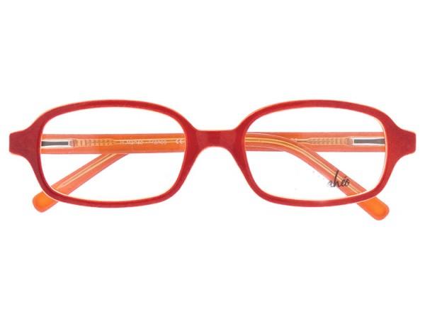 Detské dioptrické okuliare eO 299 RED