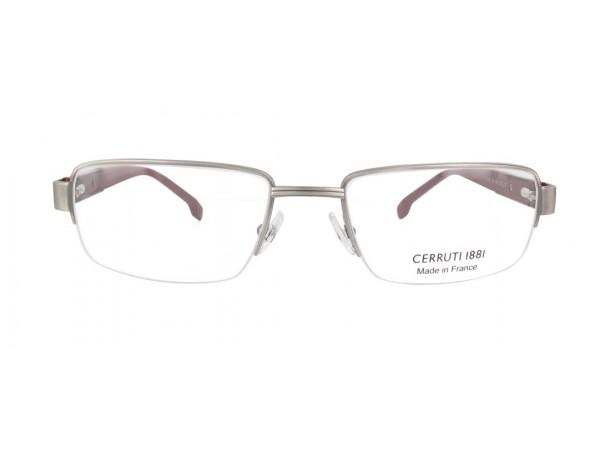 Pánske dioptrické okuliare CERRUTI CE6075 Silver Pánske dioptrické okuliare  CERRUTI CE6075 Silver-1 ... b6426ca84fe