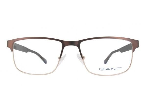 57a12567a Pánske dioptrické okuliare Gant GA3108 Brown - eOkuliare.sk