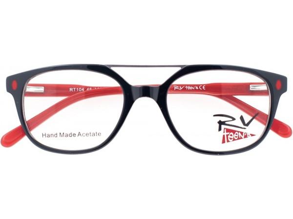 Detské dioptrické okuliare RV teen´s Red