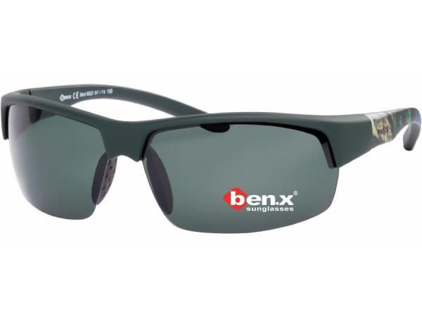 Slnečné polarizačné okuliare Ben.x 9023 Green