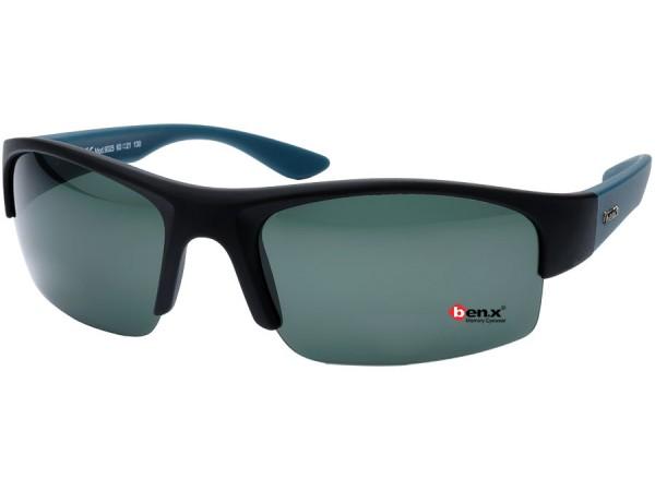 Slnečné polarizačné okuliare Ben.x 9025 Black