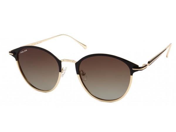 Slnečné okuliare POLAR Club2 Black&Gold
