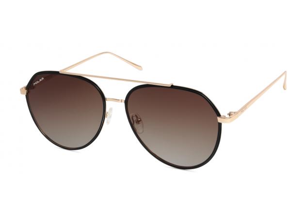 Slnečné okuliare POLAR Club1 Black&Gold