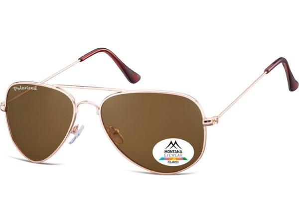 Slnečné okuliare Aviator polarizačné MP94B