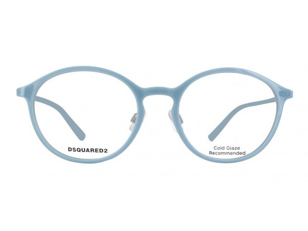 Unisex dioptrické okuliare DSQUARED2 DQ5219 Blue