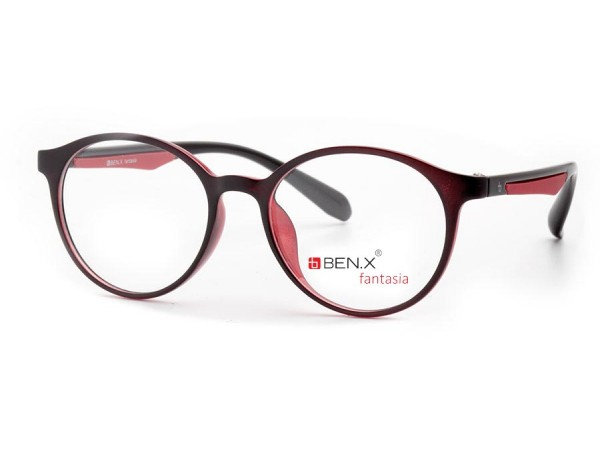 Dámske dioptrické okuliare ben.x 3501 Black