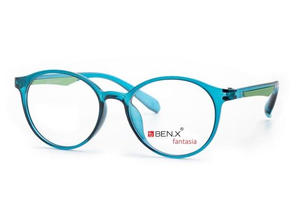 Dámske dioptrické okuliare ben.x 3501 Blue