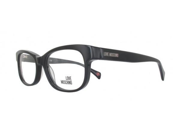 Dámske dioptrické okuliare Love Moschino ML115V Black