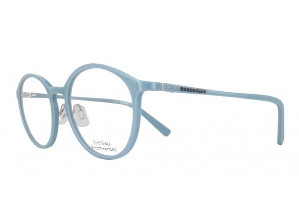 Unisex dioptrické okuliare DSQUARED2 DQ5219 Blue