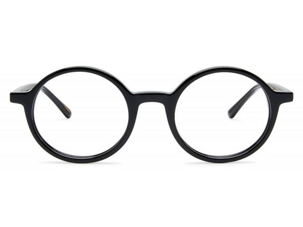 Retro dioptrické okuliare Vanora Black