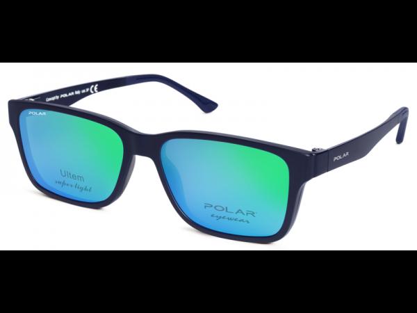 Unisex okuliare POLAR 403 20/C + klip