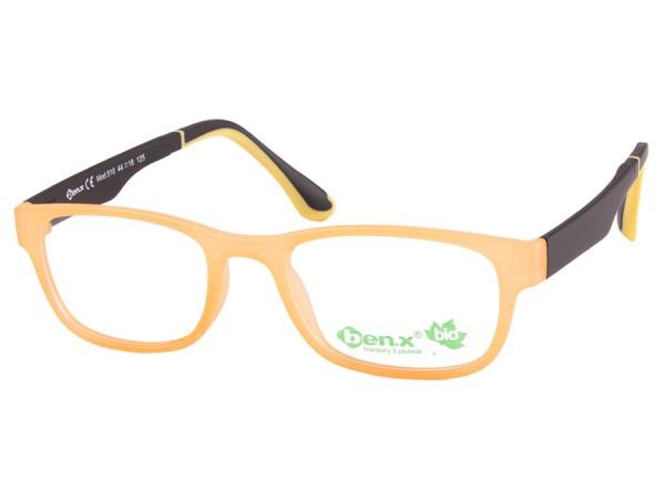 Detské okuliare ben.x Bio 510 Orange