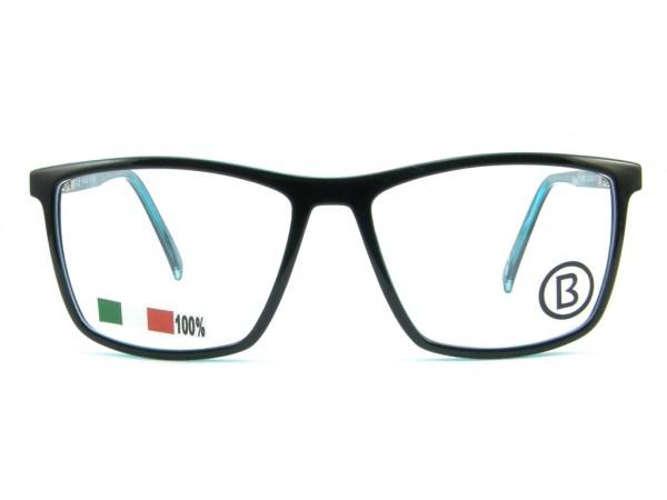 Pánske dioptrické okuliare B1919-037 Black -a