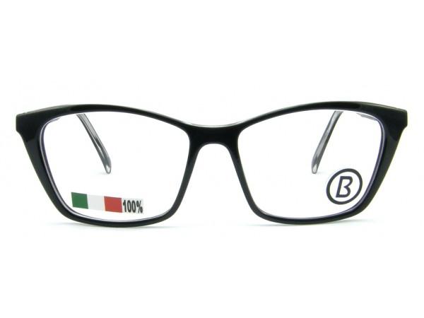 Dámske dioptrické okuliare B1919-038 Black -a