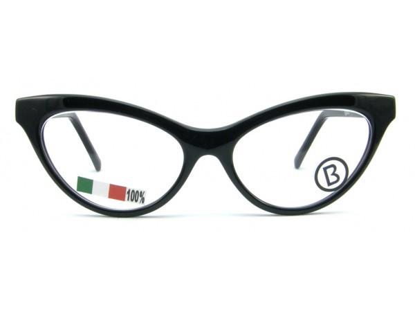 Dámske dioptrické okuliare B1919-043 Black -a