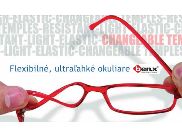 Flexibilné okuliare ben.x