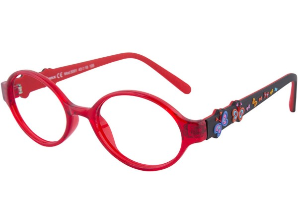 Detské okuliare ben.x 5001 Red