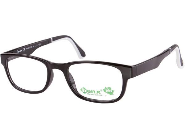 Detské okuliare ben.x Bio 510 Black