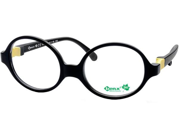 Detské okuliare ben.x Bio 515 Black