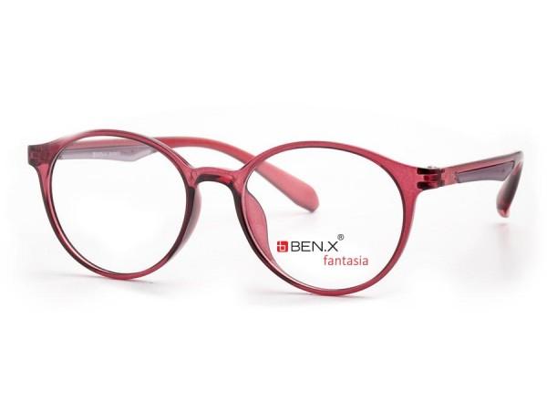 Dámske dioptrické okuliare ben.x 3501 Bordo