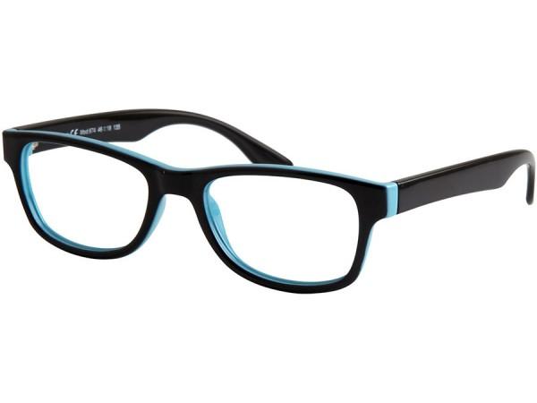 Detské okuliare ben.x 674 Black&Blue