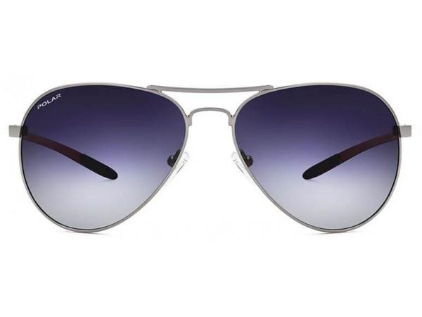 Slnečné polarizačné okuliare POLAR Carbon-Fiber 01 strieborná
