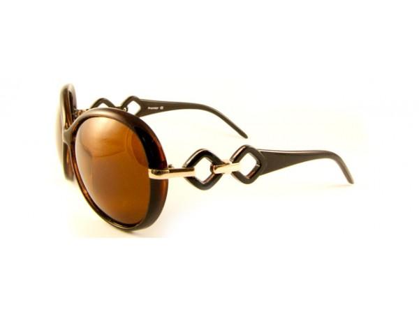 Dámske slnečné okuliare PL7673 hnedé