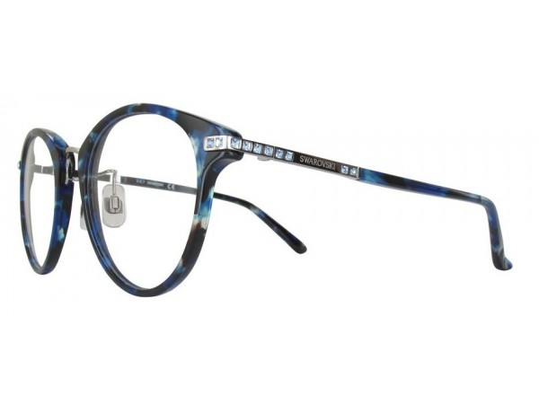 Dámske dioptrické okuliare Swarovski SK5237 Blue