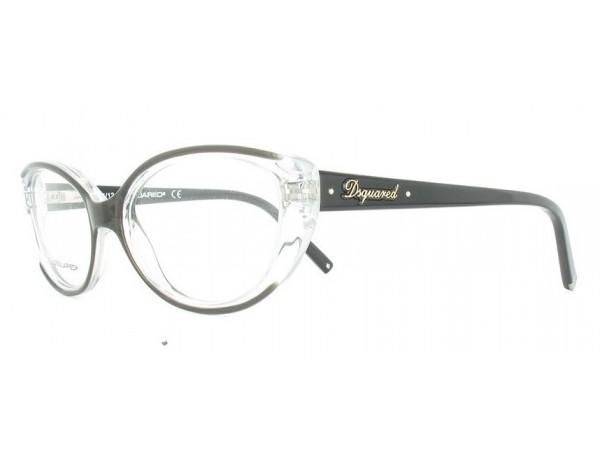 Dámske dioptrické okuliare DSQUARED2 DQ5110