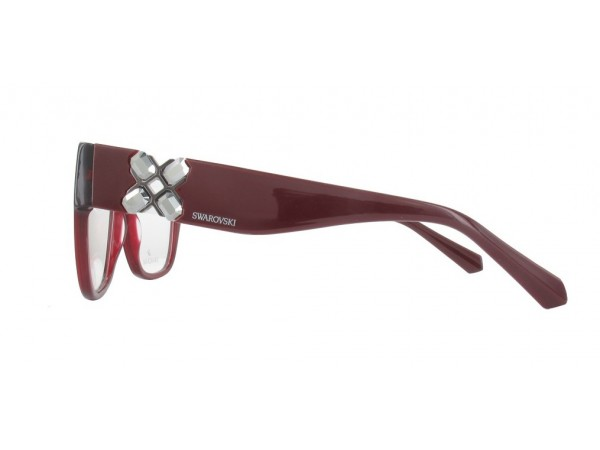 Dámske dioptrické okuliare Swarovski SK5228 Bordo-b