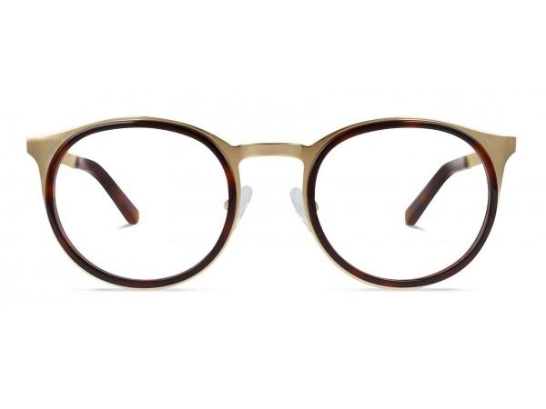 Unisex titánové okuliare Angelo Gold 2