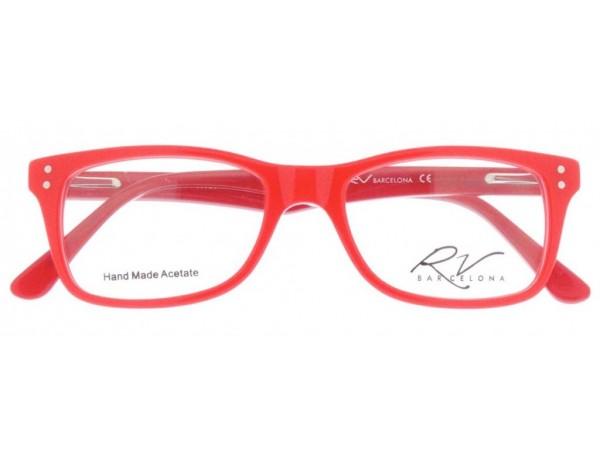 Dioptrické okuliare RV251 Red -1